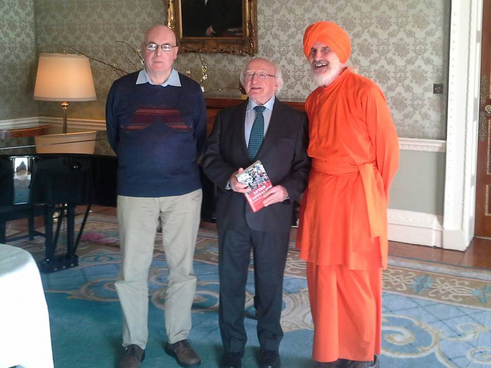 Dada meets with President of Ireland to discuss PROUT