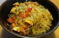 Veggie Tofu Pancit