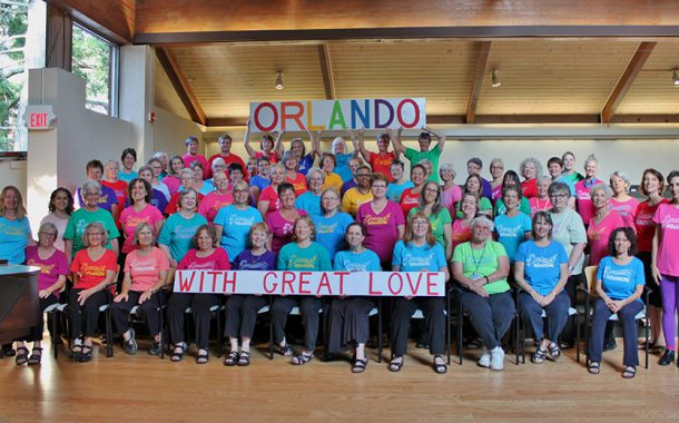 Womansong Sings for Orlando
