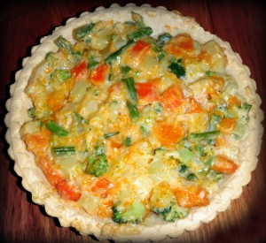 Cheesy Vegetable Pie
